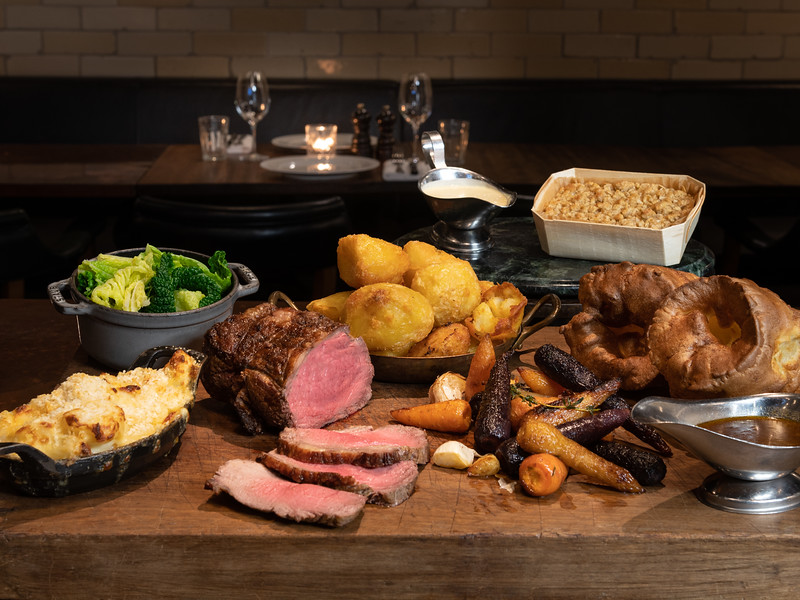 Hawksmoor at Home roast for 2